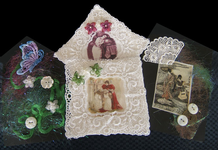 Crazy Quilt Kits with Vintage Fabric Print : crazy quilt fabric packs - Adamdwight.com