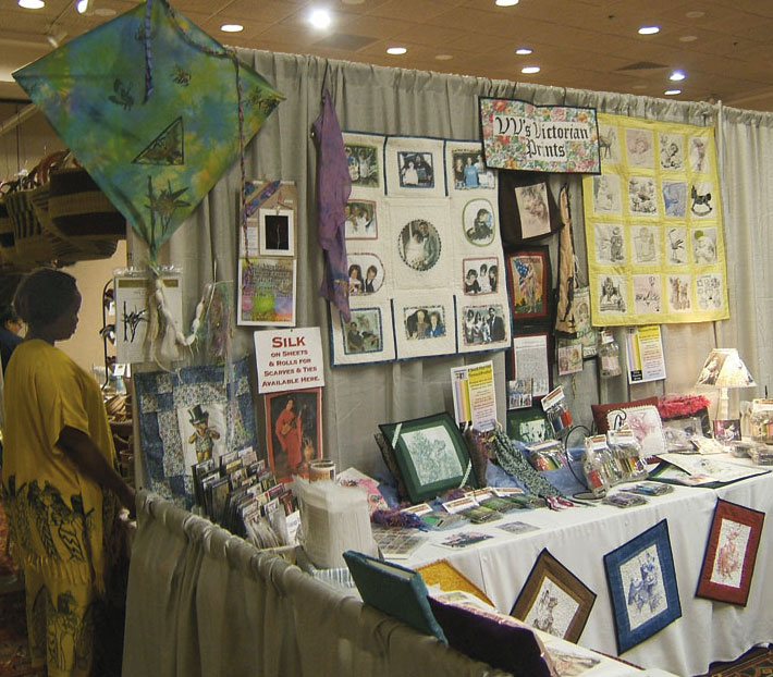 [Seattle Knitting & Fiber Arts Expo Booth]